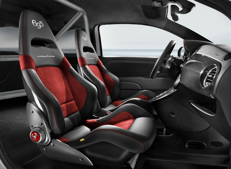 Galerie abarth 500 interno competizione innenraum for Interno auto