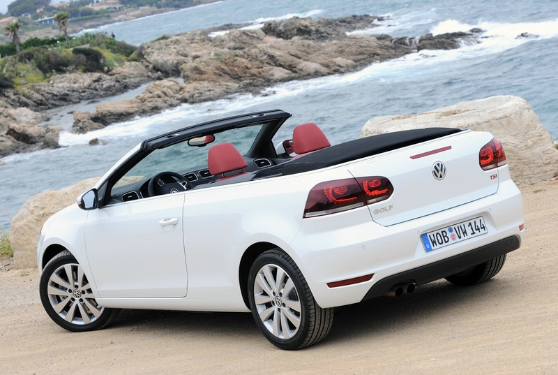 galerie vw golf cabrio in weiss bilder und fotos. Black Bedroom Furniture Sets. Home Design Ideas