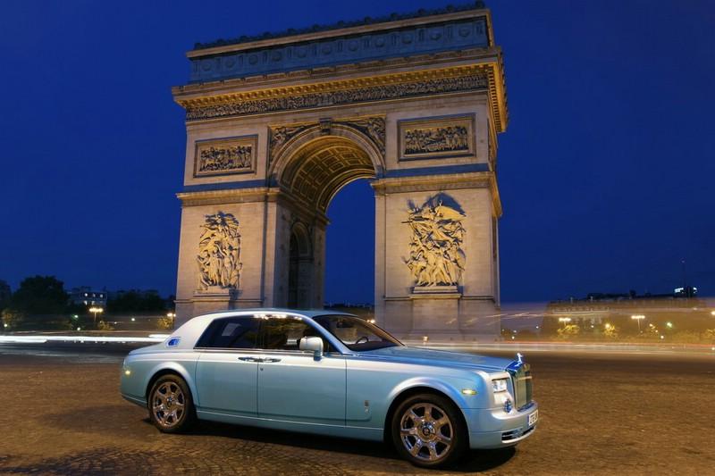 Rolls-Royce 102EX in Paris