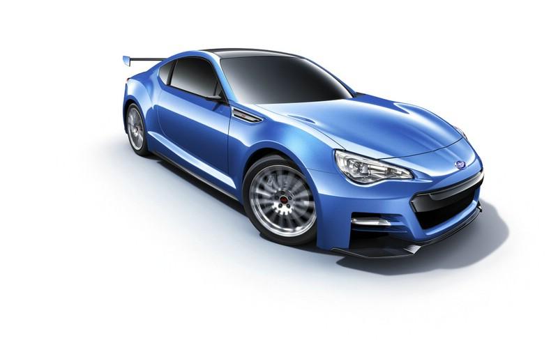 Subaru Sportwagen BRZ Concept STI