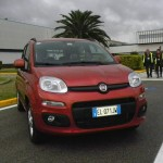 Front des Fiat Panda