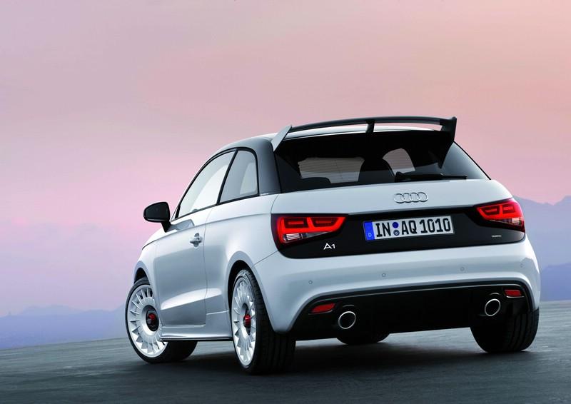Audi A1 Quattro Heckpartie