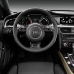 Audi A4. Das Cockpit, Der Lenkrad, Tacho