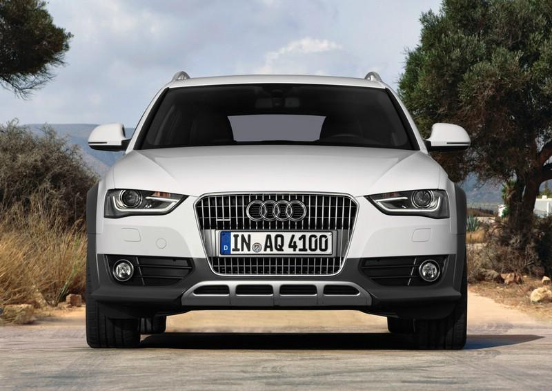 Der neue Audi A4 in der Version Allroad