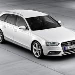 Der neue Audi A4 Avant in der Farbe Weiss