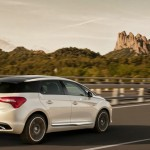 Heckpartie des Citroen DS5