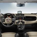 Fiat Panda Innenraum, Lenkrad, Armaturenbrett, Tacho