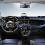 Fiat Panda in der Innenausstattung Blau