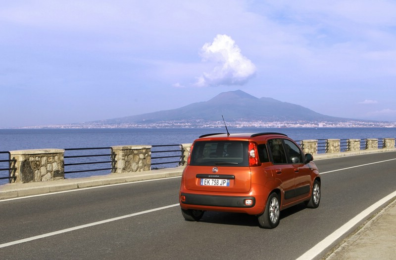 Fiat Panda 2012 in der Heckansicht