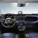 Das Innenleben des Fiat Panda (Blau)