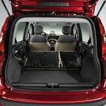 Laderaum des Fiat Panda 2012