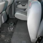 Hintere Sitze im VW Amarok