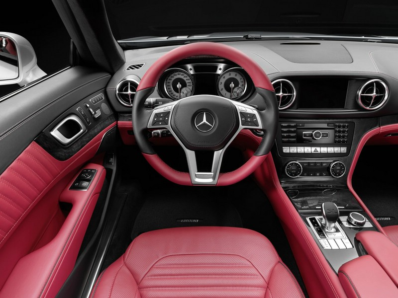 Galerie: Mercedes-Benz SL Cockpit | Bilder und Fotos | {Auto cockpit mercedes 5}