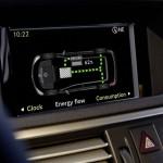 FarbDisplay des Mercedes-Benz E 400 Hybrid Display