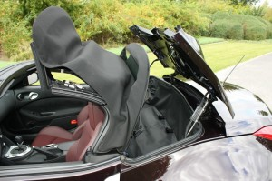 Heckabteil des 370Z Roadsters aus dem Hause Nissan