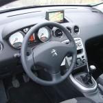 Peugeot 308 Active VTI 1,6 - Hier nimmt der Fahrer Platz