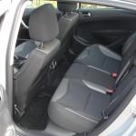 Hier nehmen die Fondpassagiere Platz - Peugeot 308 Active VTI 1,6