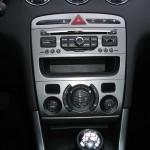Zweizonen-Klimaanlage im Peugeot 308