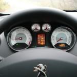 Fahransicht Peugeot 308 Active VTI 1,6