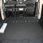 Die Ladefläche des Peugeot Partner Tepee
