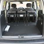 Der Innenraum des Peugeot Partner Tepee