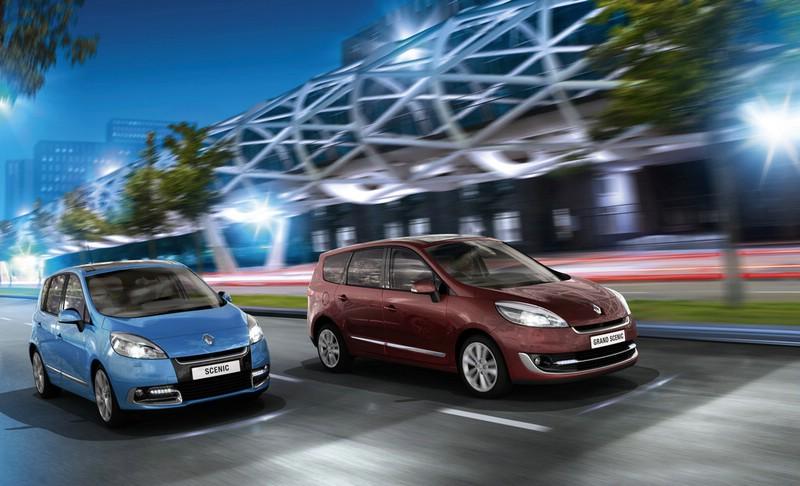 Renault Scenic und Grand Scenic Modelljahr 2012