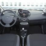 Das Armaturenbrett des Renault Twingo
