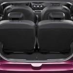 Kofferraum des Renault Twingo