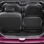 Die Sitze des Renault Twingo sind umklappbar
