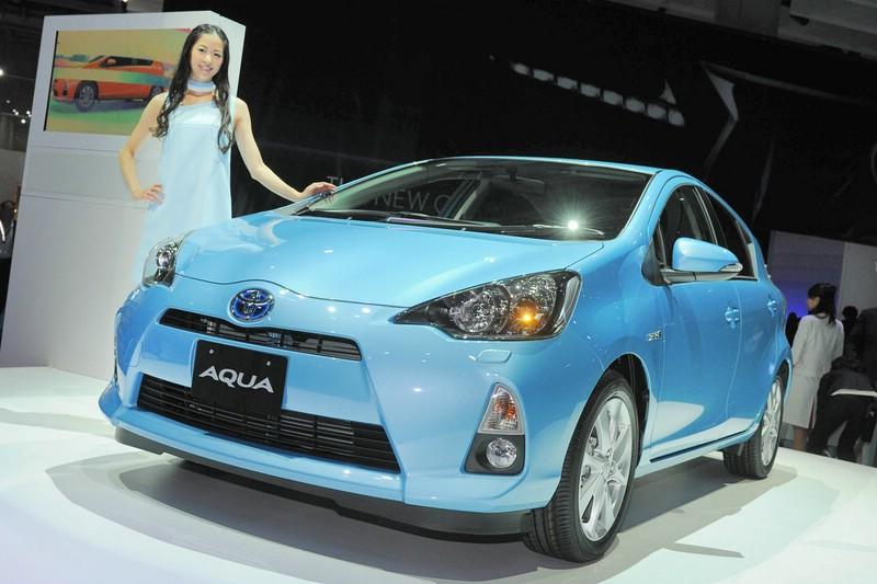 Hybridauto Aqua auf Tokyo Motor Show