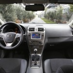 Der Innenraum des Toyota Avensis