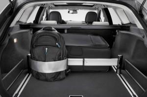Gepäck und Kofferraum im Toyota Avensis Kombi
