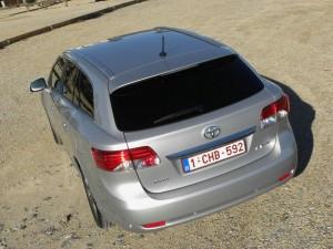 Toyota Avensis Kombi - Das Heck