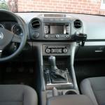 Der Innenraum des VW Amarok