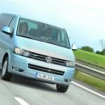 Der Volkswagen Multivan in der Frontansicht
