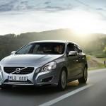 Der Volvo V60 Plug-in-Hybrid in Silber
