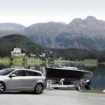 Volvo V60 Plug-in-Hybrid mit Anhänger
