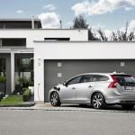 Volvo V60 Plug-in-Hybrid tankt Strom
