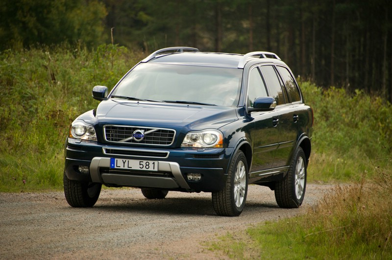Die Frontpartie des Volvo XC90