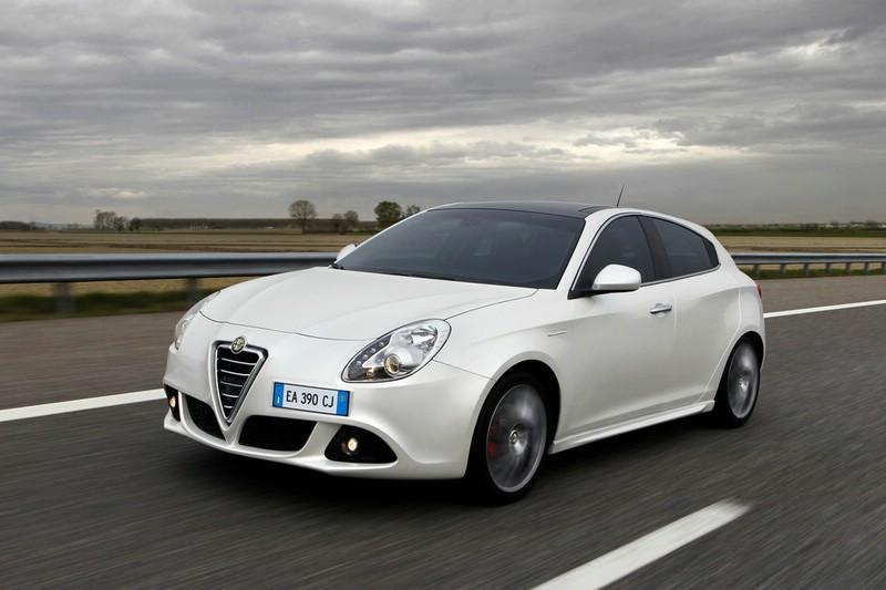 Der Alfa Romeo Guilietta TCT in der Frontansicht