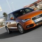 Der neue Audi A1 Sportback in der Frontansicht