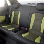 Die Fondsitze im Audi A1 Sportback
