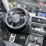 Der Innenraum des Audi Q3 Vail