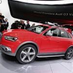 Audi Q3 Vail auf der Automesse