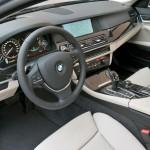 Das Cockpit des BMW Active Hybrid 5
