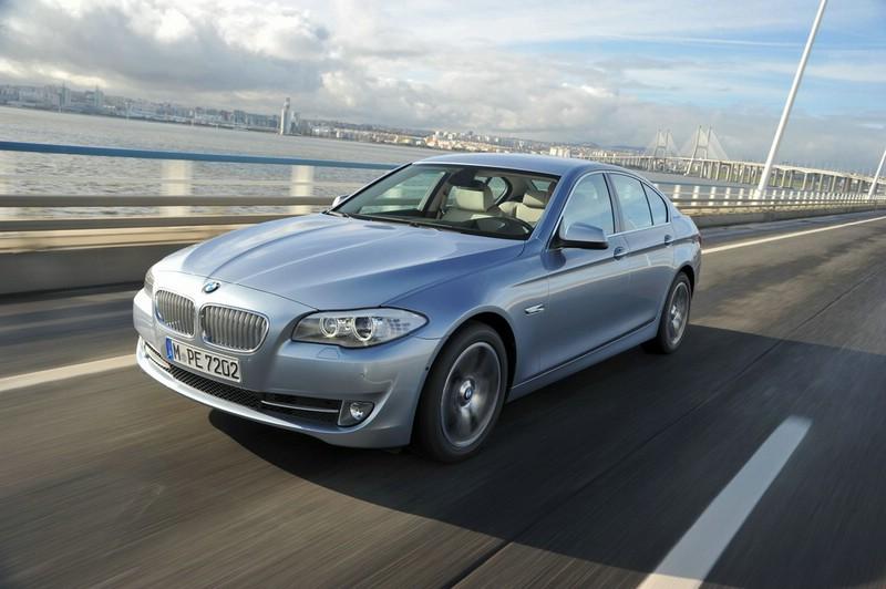 BMW Active Hybrid 5 mit Zwei Motoren
