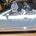 Das neue Bentley Continental GTC Cabrio in der Seitenansicht
