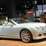 Bentley Continental GTC in der Version als Cabrio