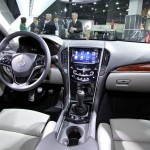 Cadillac ATS Innenraum - Lenkrad, Tacho, Armaturenbrett