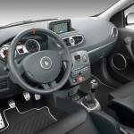 Das Cockpit des Renault Clio R.S. sport auto Edition